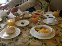 最終日の朝食〜