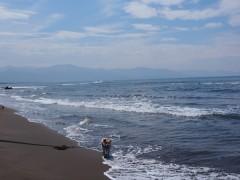 海も空も広いねぇ〜