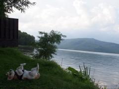 阿寒湖 in アカ〜ン